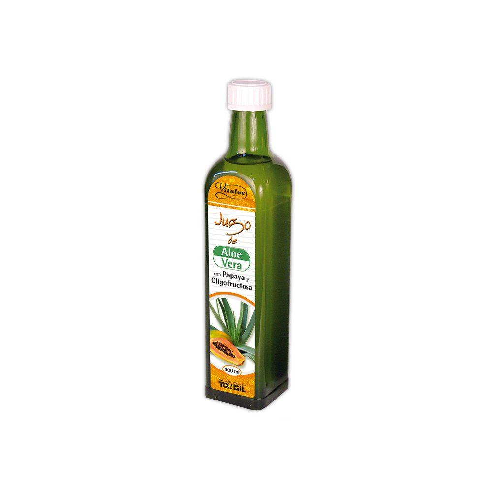 Jugo de Aloe Vera y Papaya Tongil