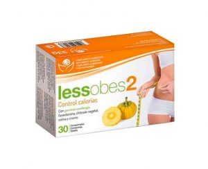 Lessobes 2 control calorias Bioserum