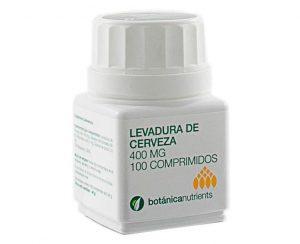 Levadura cerveza 400 mg comprimidos Botánica Nutrients