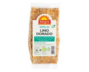 Lino dorado semillas bio Biográ