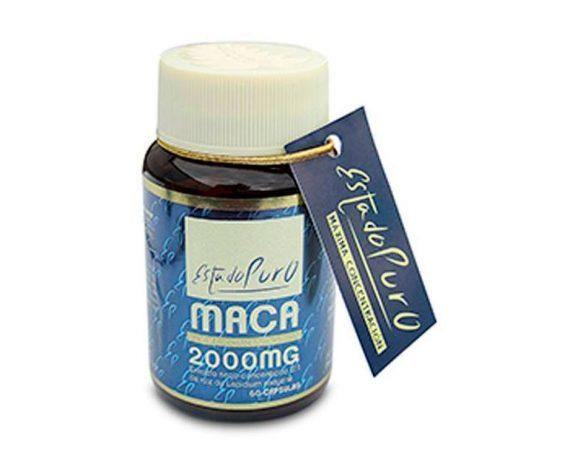 Maca 2000 mg cápsulas Tongil