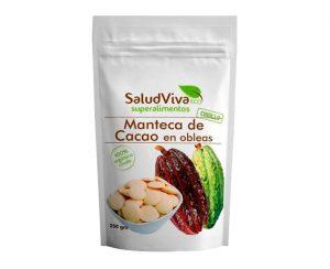 Manteca de Cacao en obleas eco Salud Viva