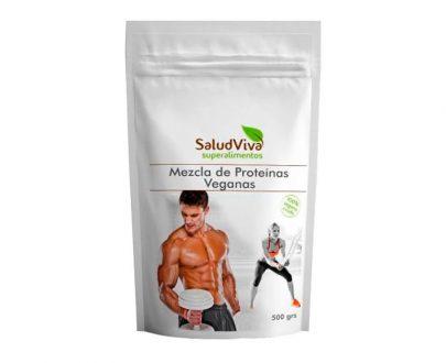 Mezcla de Proteinas Veganas superalimentos Salud Viva