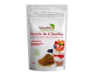 Mezcla 6 semillas superalimentos Salud Viva