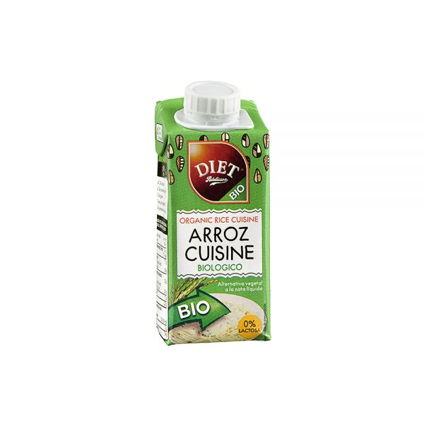 Nata bio arroz cuisine Diet Radisson
