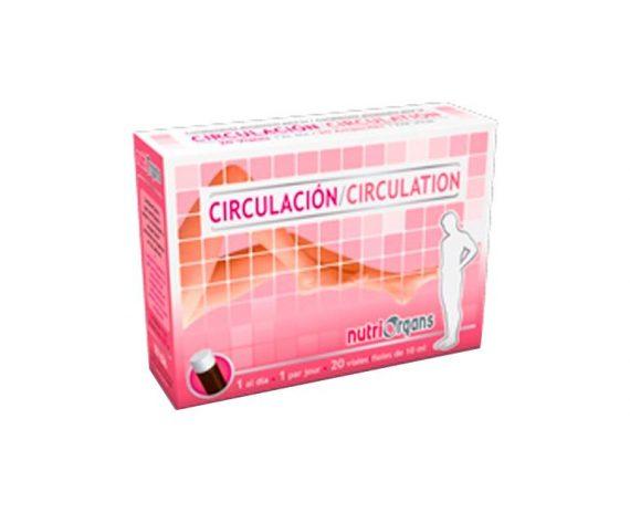 Nutriorgans Circulación viales