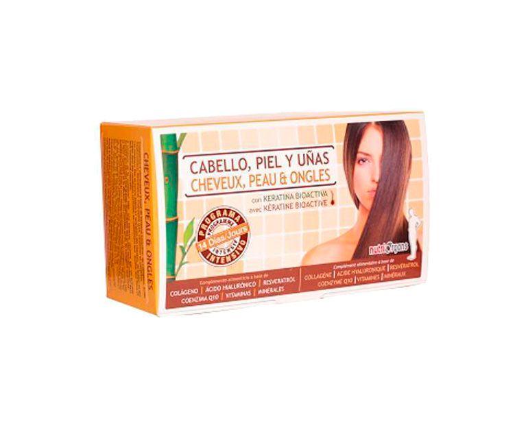 Nutriorgans Cabello, Piel y Uñas viales