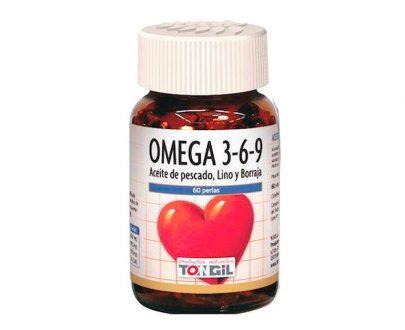 Omega 3-6-9 perlas Tongil