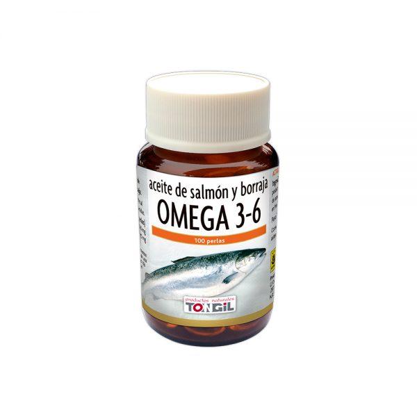 Omega 3 y 6 Salmón con Borraja