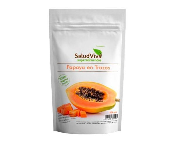 Papaya en Trozos superalimentos Salud Viva
