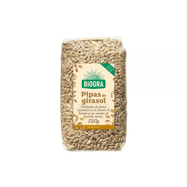 Pipas de Girasol semillas bio Biográ