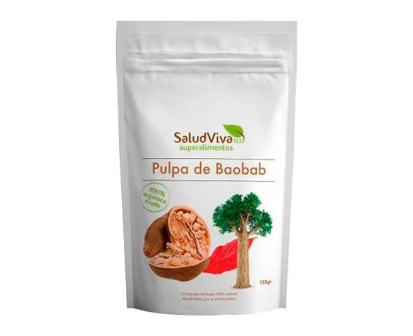 Pulpa de Baobab en polvo eco Salud Viva