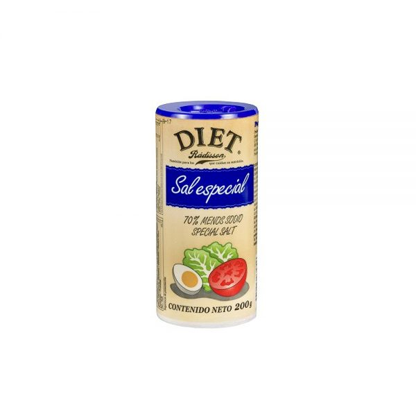 Sal especial baja en sodio Diet Radisson