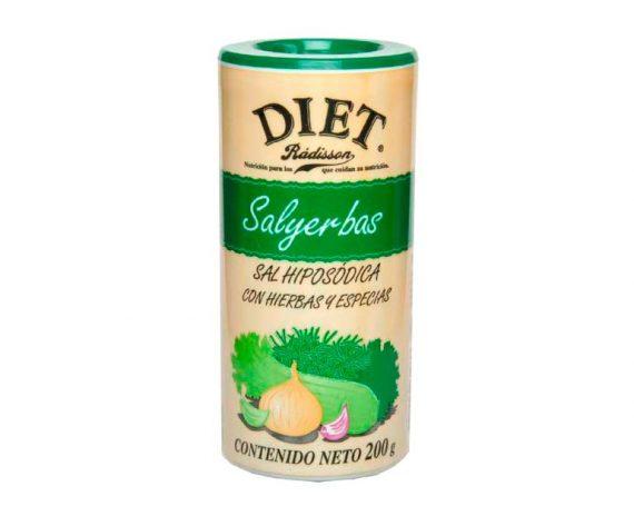 Sal yerbas Diet Radisson