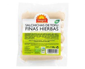 Salchichas de Tofu Finas Hierbas bio Biográ