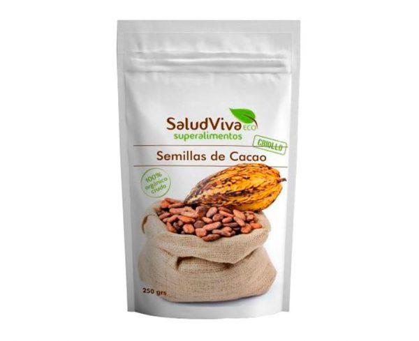 Semillas de Cacao superalimentos Salud Vida