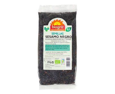 Sésamo negro semillas bio Biográ