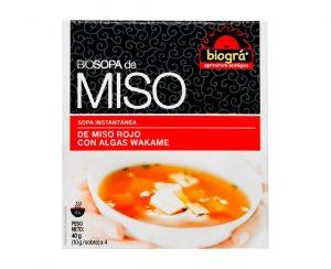 Sopa Miso con Algas bio Biográ