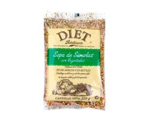 Sopa de sémola y vegetales Diet Radisson