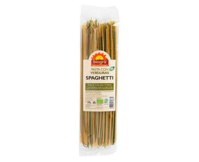 Spaguetti con verduras bio Biográ