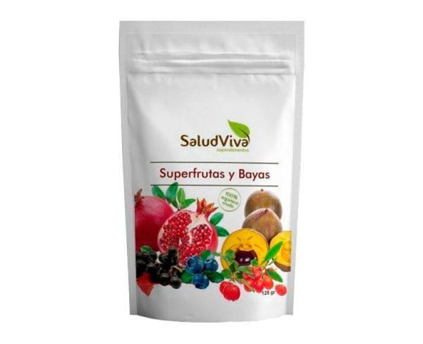 Superfrutas y Bayas superalimentos Salud Viva