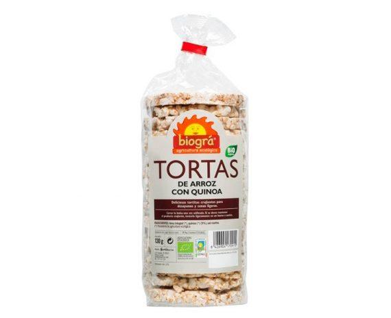Tortas de Arroz y Quinoa bio Biográ