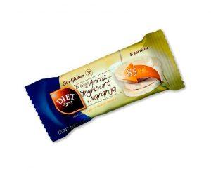 Tortitas arroz yogurt naranja diet Radisson