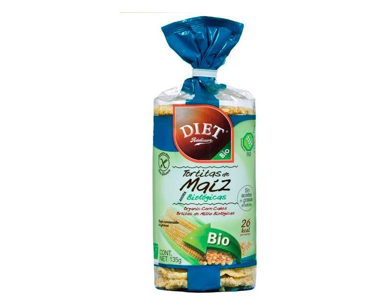 Tortitas maíz sin gluten Diet Radisson