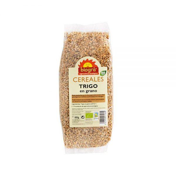 Trigo en grano bio Biográ