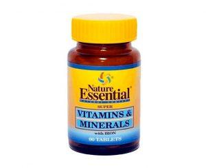 Vitaminas y minerales Nature Essential