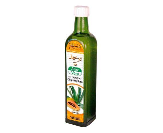 Zumo de Aloe Vera y Papaya Tongil
