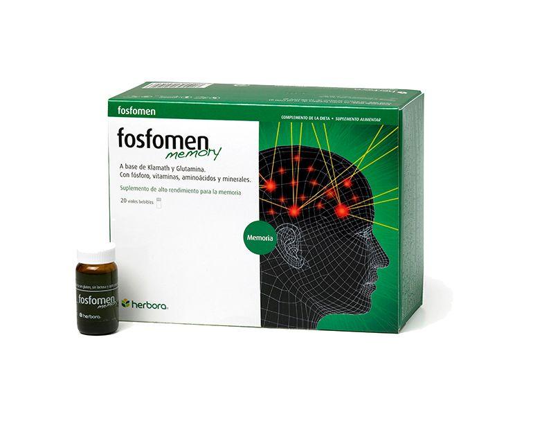 Fosfomen Memory viales Herbora