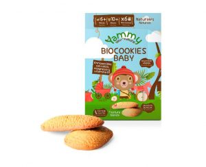 Galletas Biocookies Baby Yammy