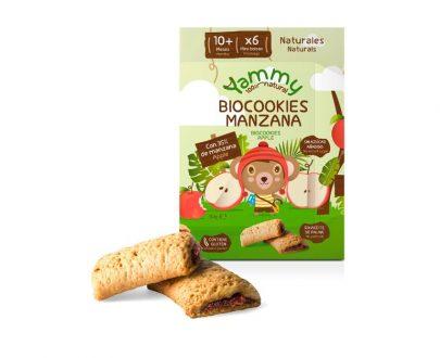 Galletas Biocookies Manzana Yammy
