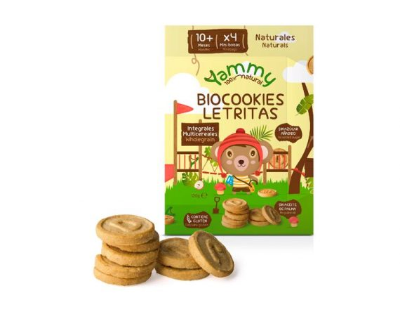 Galletas Biocookies Mini Letras Yammy