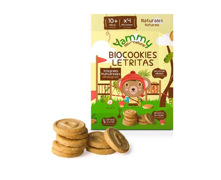 Galletas Biocookies Mini Letras Yammy