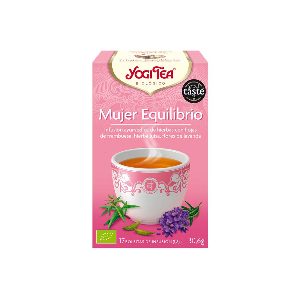 Mujer Equilibrio Bio Yogi Tea