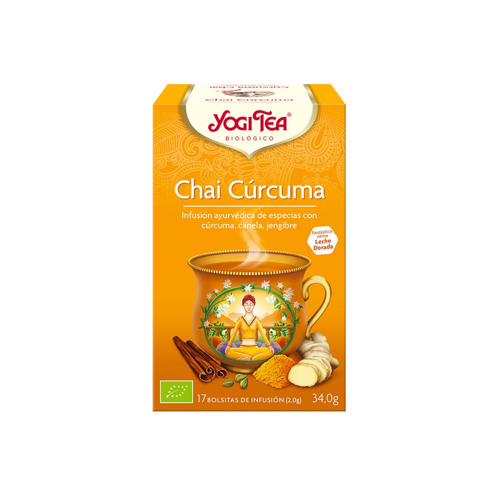 Chai Cúrcuma Bio Yogi Tea