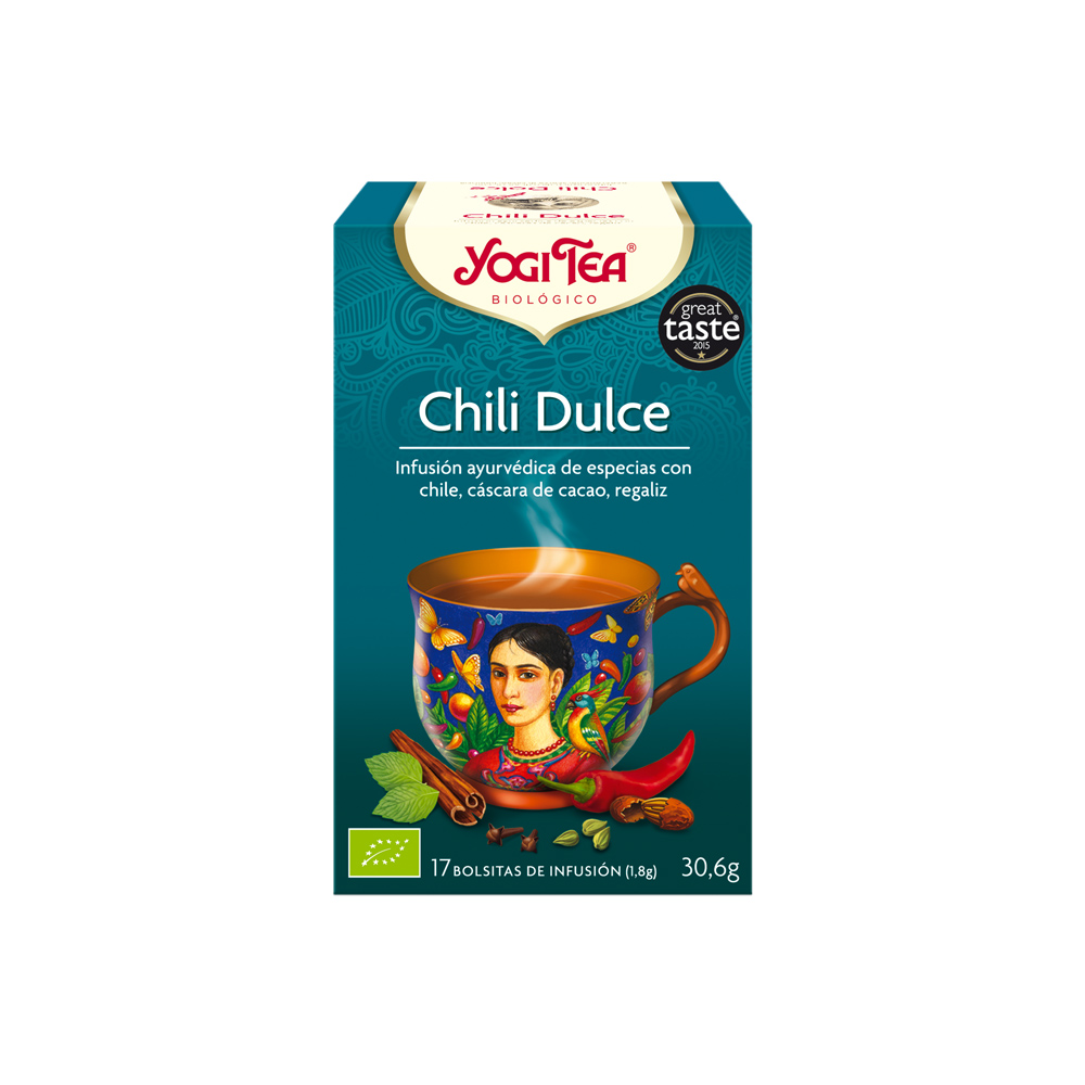 Chili Dulce Bio Yogi Tea