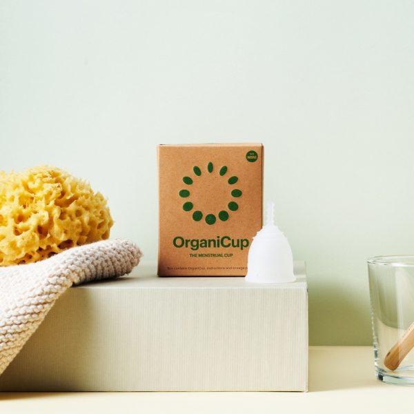 Copa Menstrual Tamaño Mini OrganiCup
