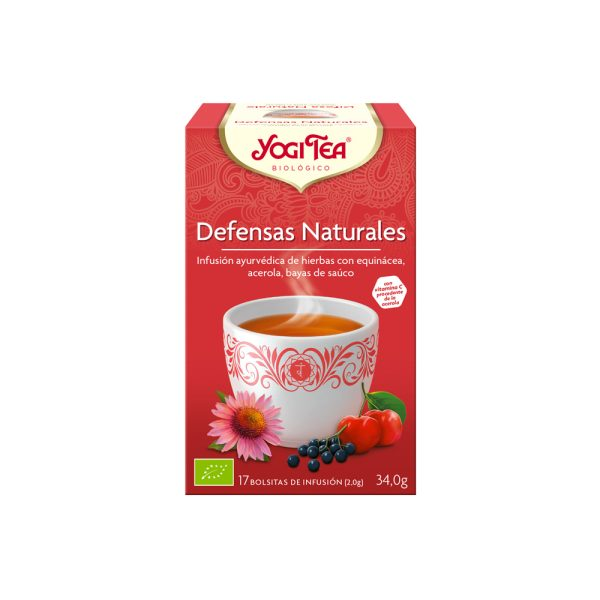 Defensas Naturales Bio Yogi Tea
