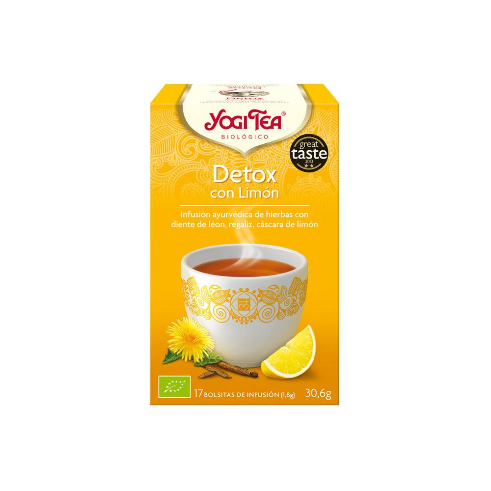 Detox con Limón Bio Yogi Tea
