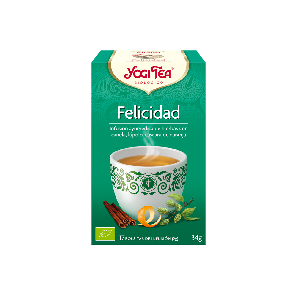 Felicidad Bio Yogi Tea