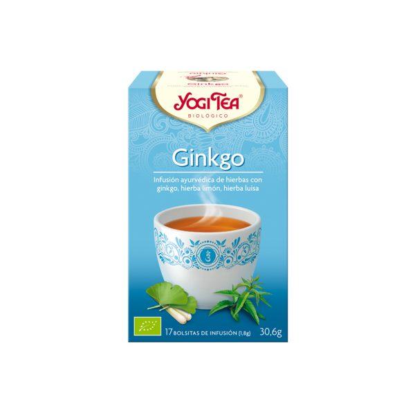 Ginkgo Bio Yogi Tea