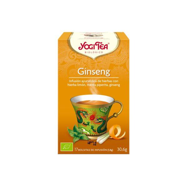 Ginseng Bio Yogi Tea