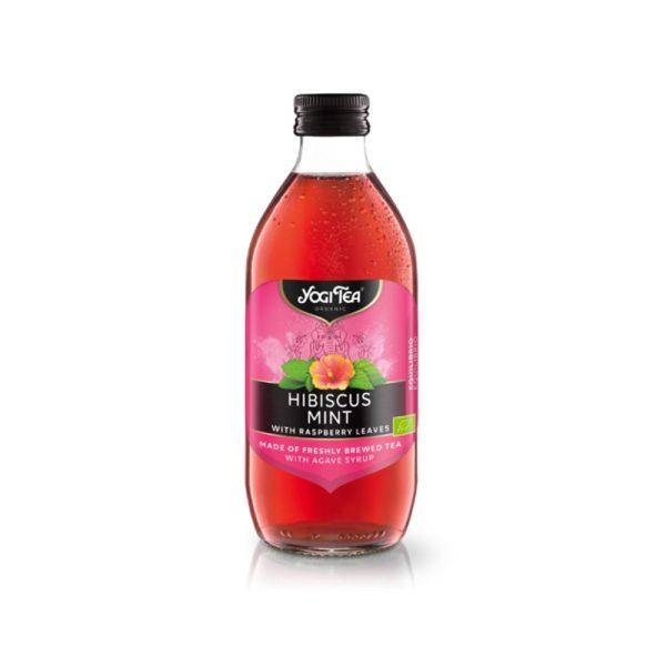 Infusión Fría Hibiscus Menta Bio Yogi Tea