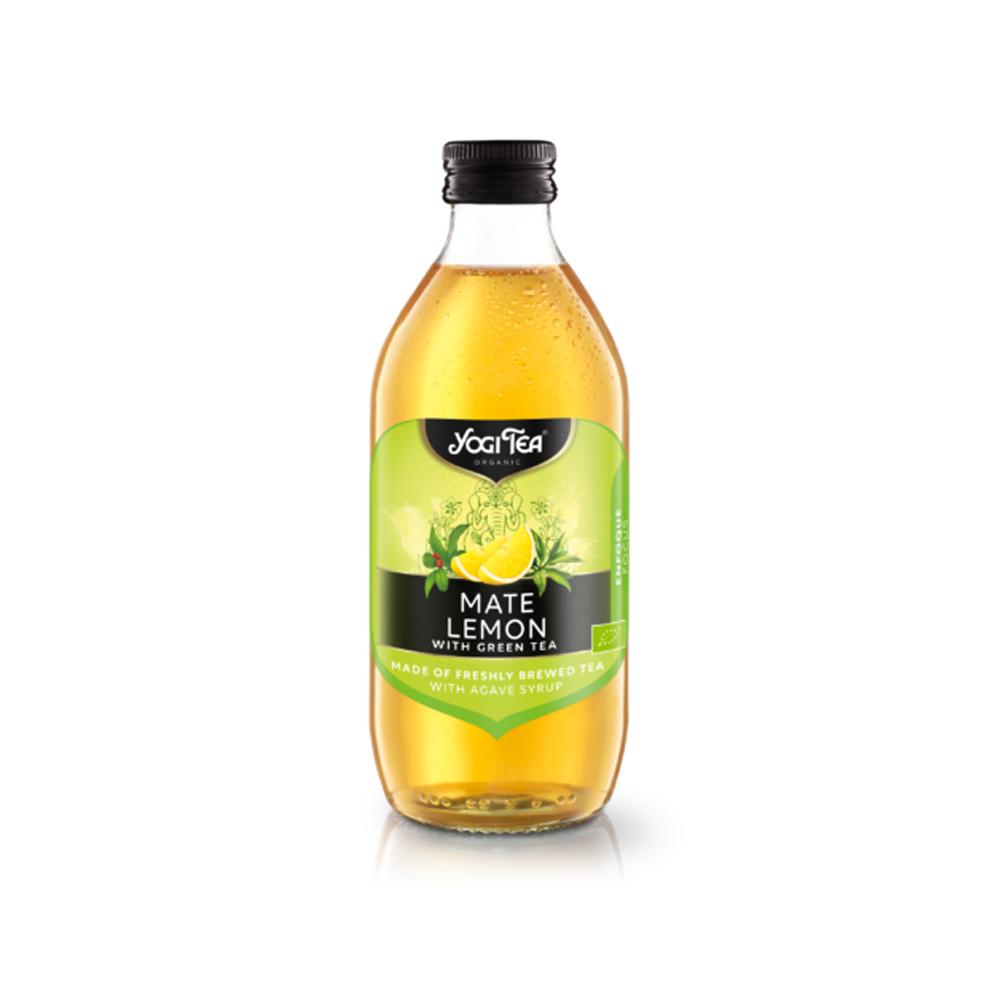 Infusión Fría Mate y Limón Bio Yogi Tea
