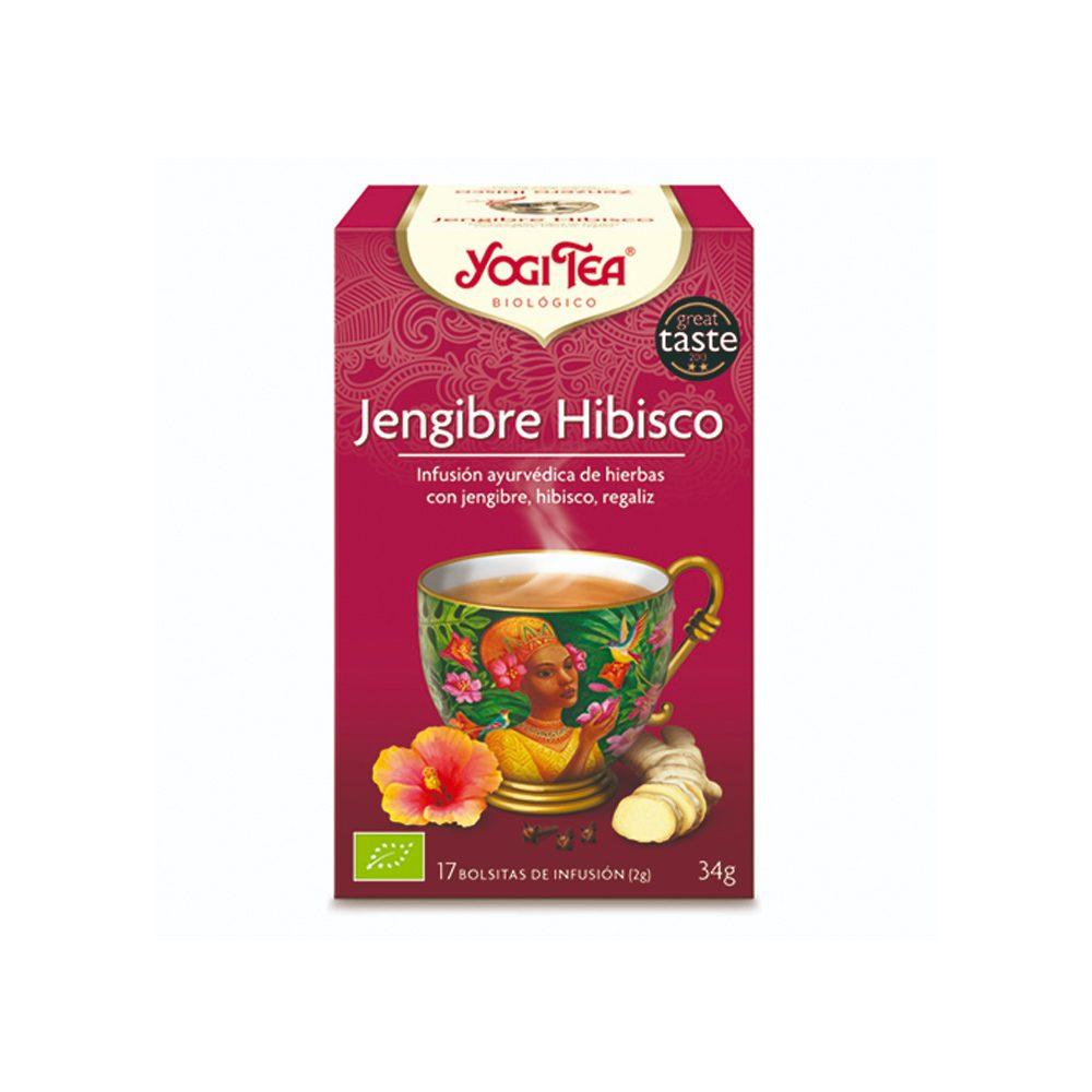 Jengibre Hibisco Bio Yogi Tea