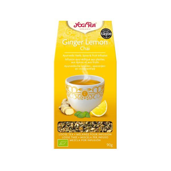 Jengibre Limón Chai Bio 90 gr Yogi Tea