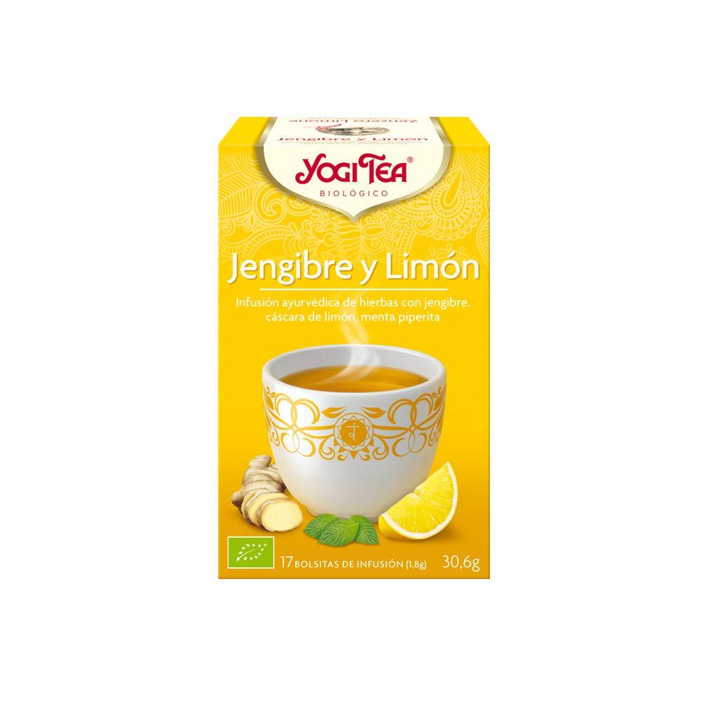 Té Verde Jengibre y Limón Bio Yogi Tea